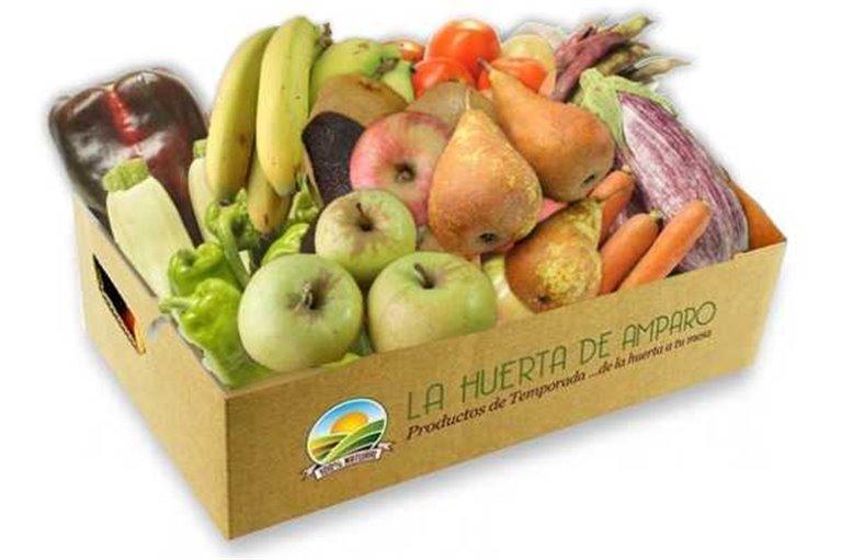 Caja Fruta y Verdura Eco (12Kg aprox) (ENVIO GRATIS)