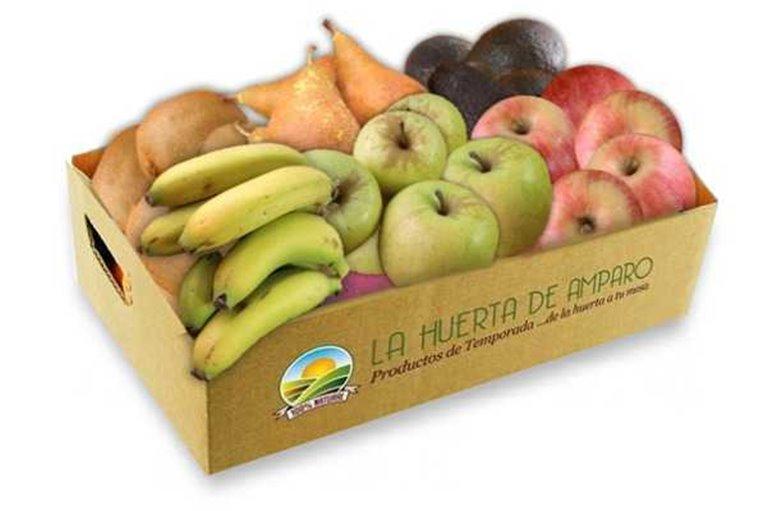 Caja Frutas Eco (8kg aprox) (ENVÍO GRATIS)