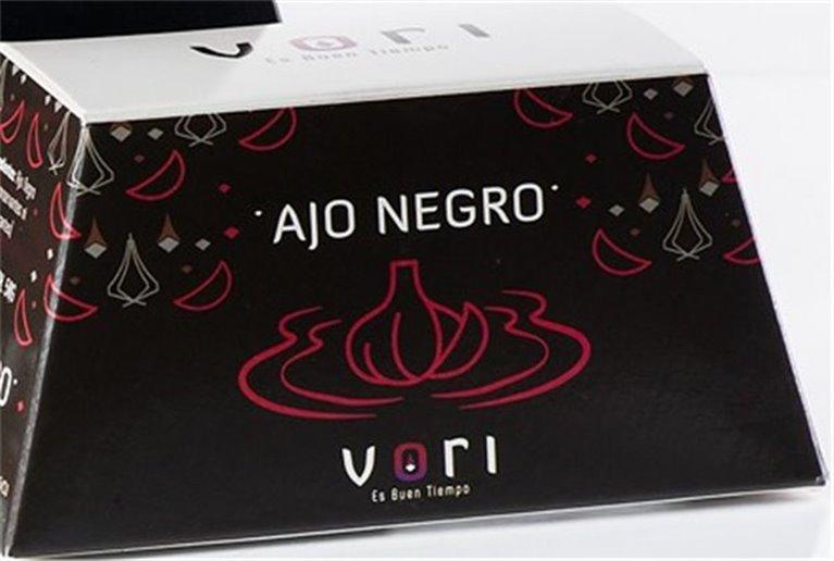 Caja grande de cabezas de Ajo Negro VORI ( 250 gr) Aprox.