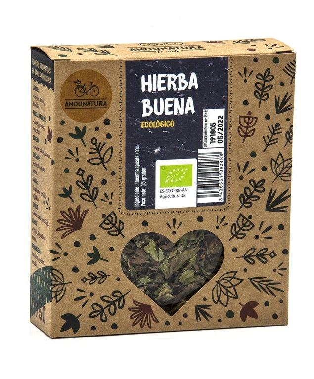 Caja kraft con 15g de Hierbabuena Hojas ECO