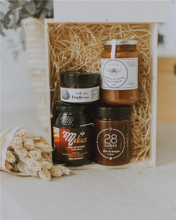 Caja miel por hora