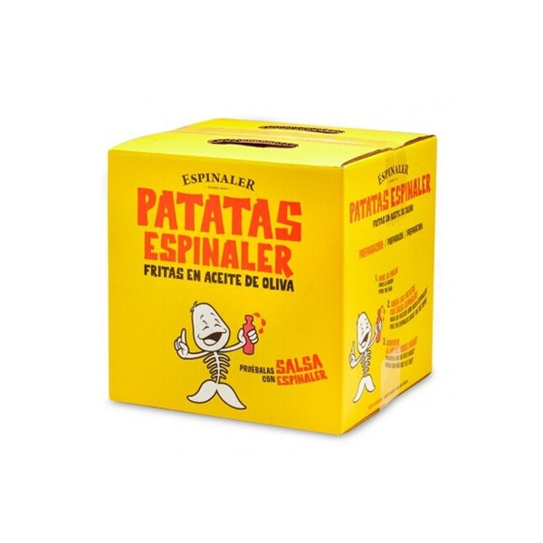 Caja Patatas Fritas Espinaler 700 gr.