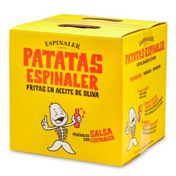 Caja patatas fritas Espinaler 700gr