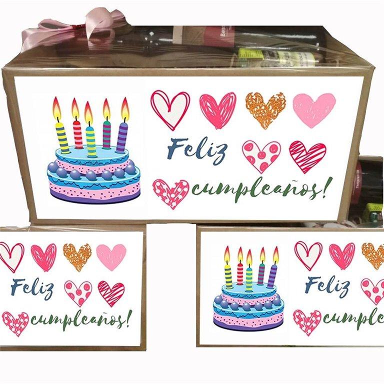 Caja Regalo Feliz Cumpleaños