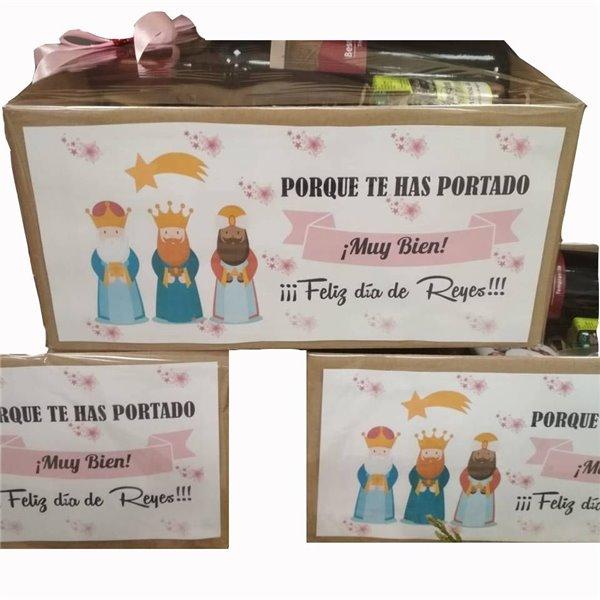Caja Regalo Feliz Dia Reyes