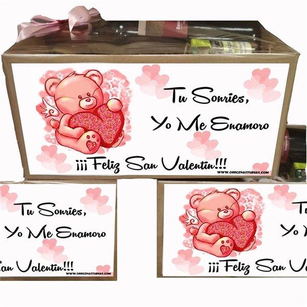 Caja Regalo San Valentin