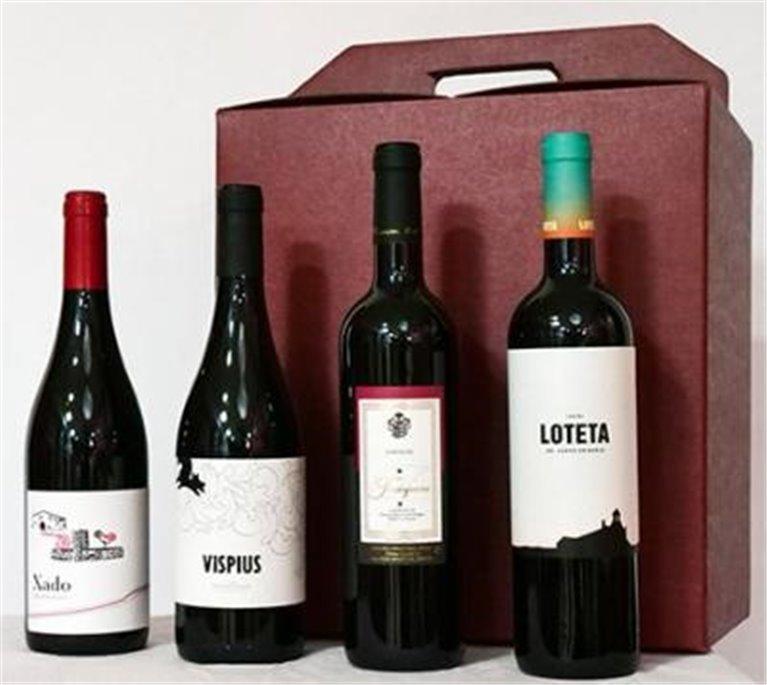 Caja Vino Selección 4 bot, 1 ud