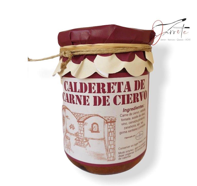 Caldereta de Carne de Ciervo - Tarro, 420 gr
