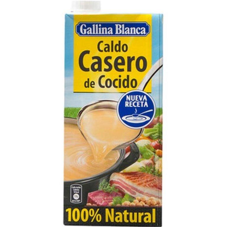 Caldo casero de cocido Gallina Blanca