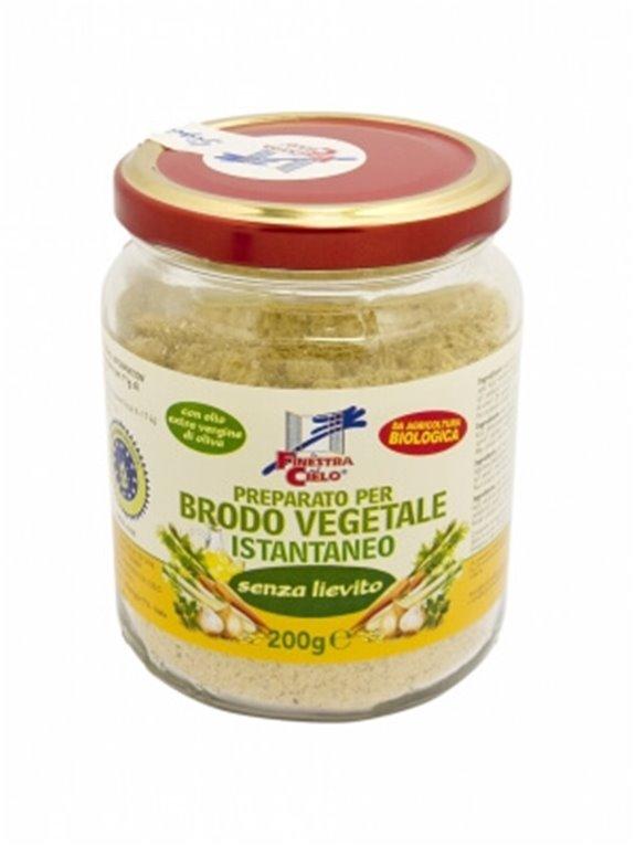Caldo vegetal en polvo sin levadura, 200 gr