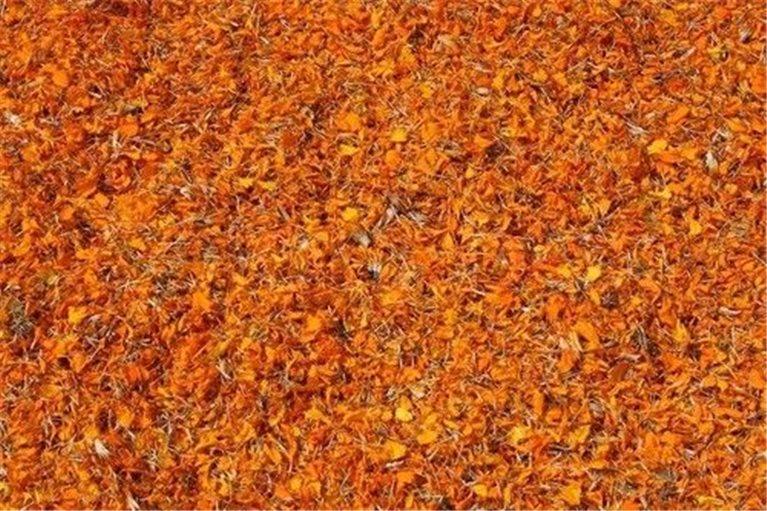 Caléndula flor, bandeja 100 gramos, 1 ud