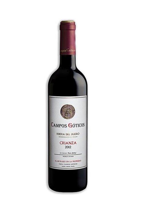 CAMPOS GOTICOS - Tinto Crianza 2012, 0,75 l