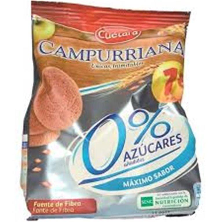 Campurrianas (0% azúcares añadidos, fuente de fibra)
