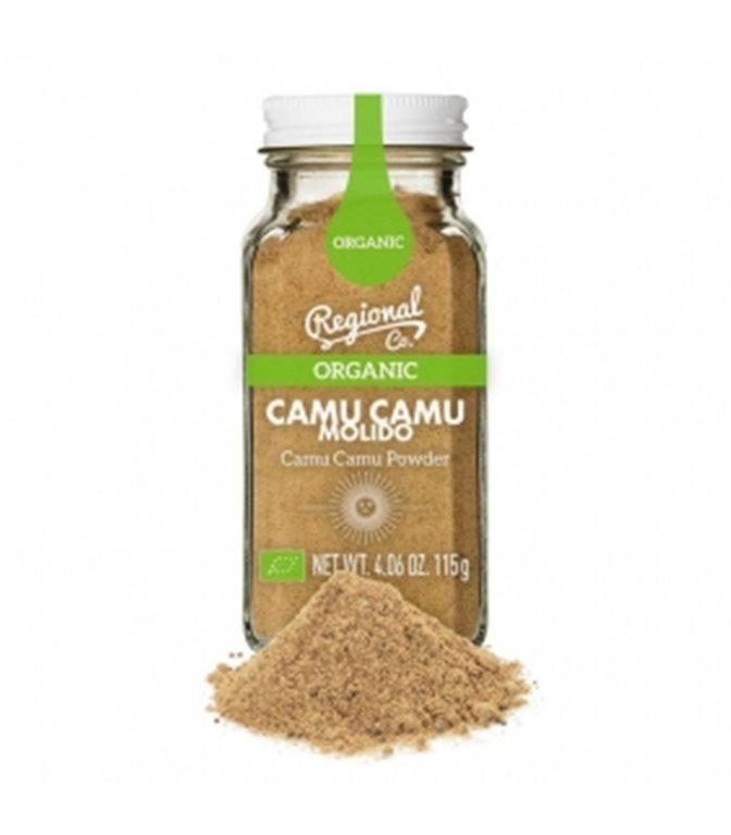 Camu Camu Organic Ground 115gr. Regional Co. 6un.