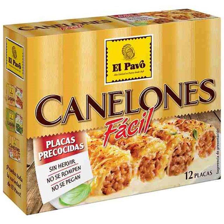Canelones El Pavo (12 placas)