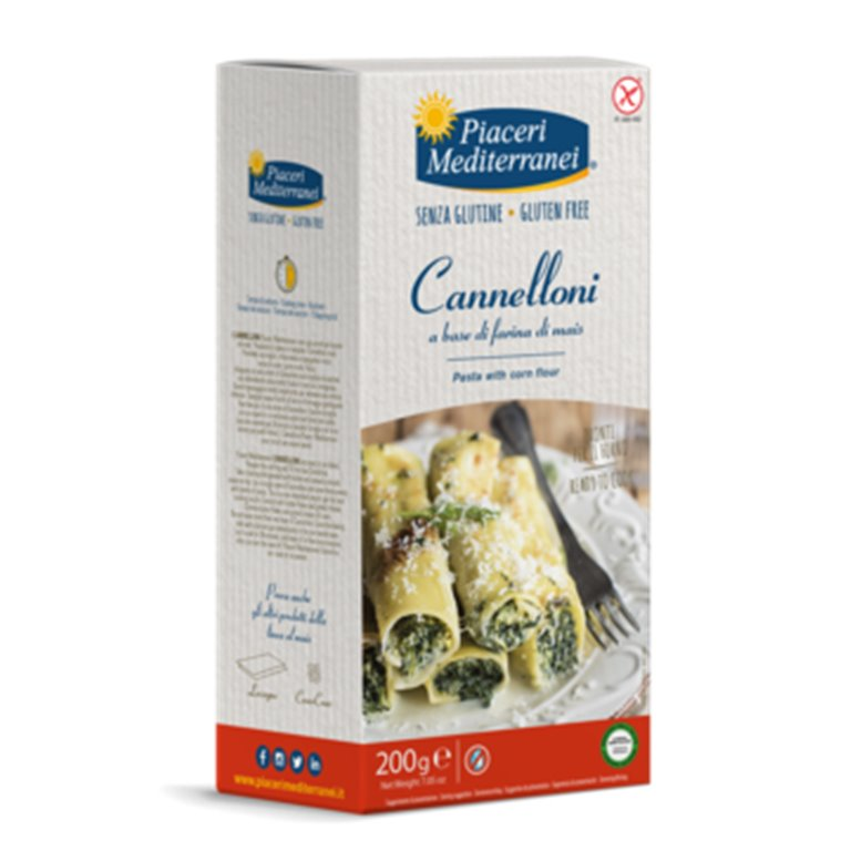 Canelones de Maíz Sin Gluten 200g, 1 ud