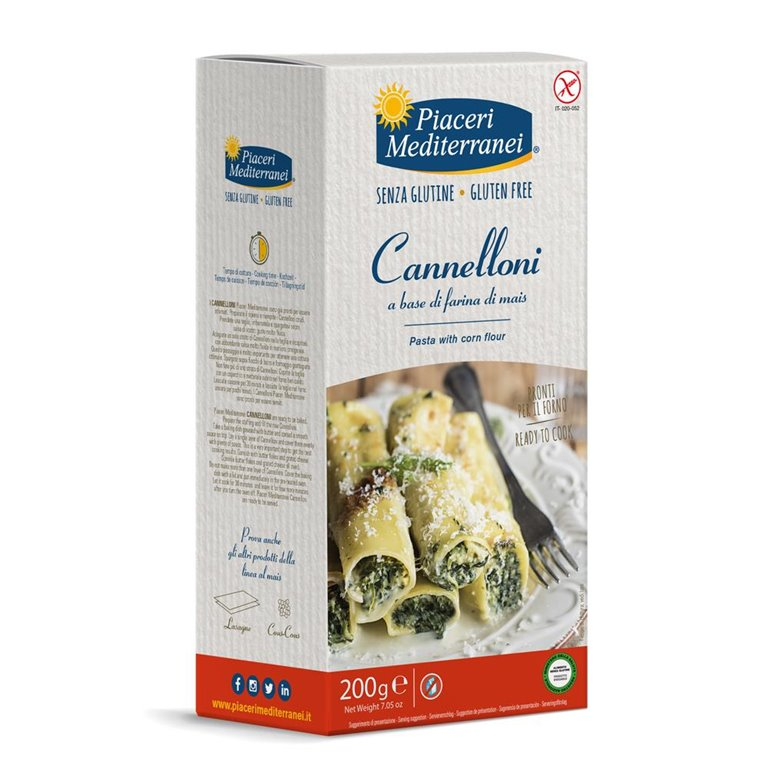 Cannelloni de Maíz Sin Gluten 200g