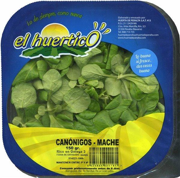 Canónigos El Huertico (150 gr)