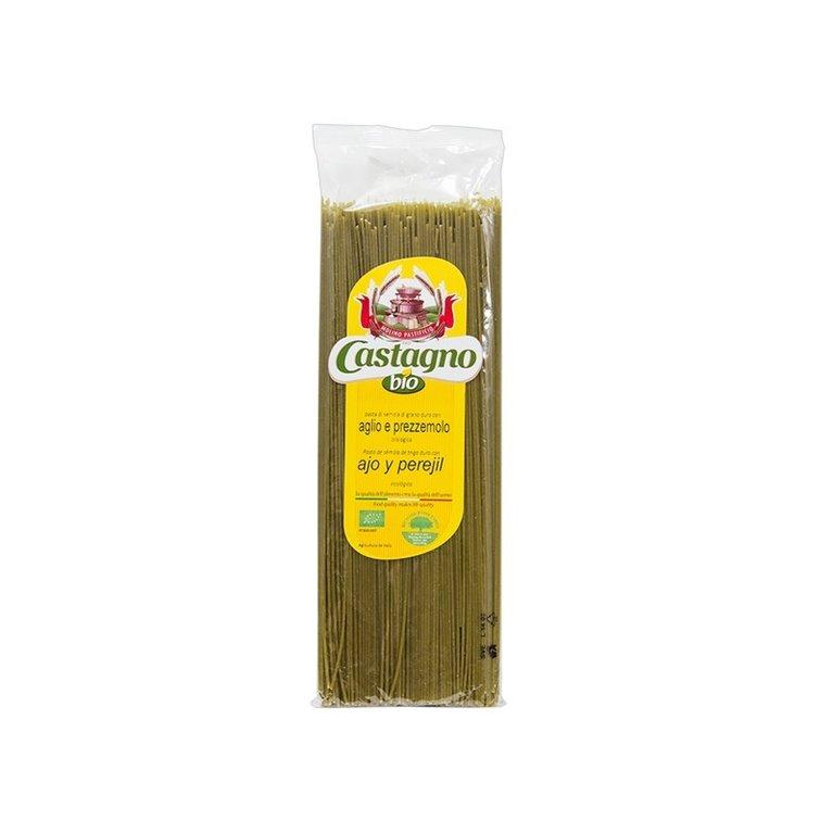 Capellini de Trigo Duro con Ajo y Perejil Bio 500g
