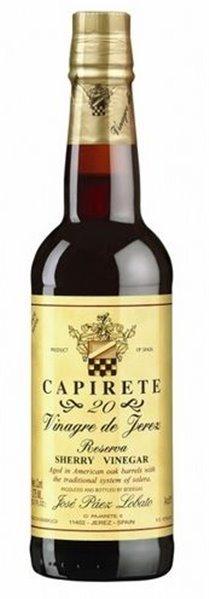 Capirete 20. Vinagre de Jerez 20 años.  375ml