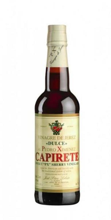 Capirete sweet PX, Sherry vinegar. 375 ml.
