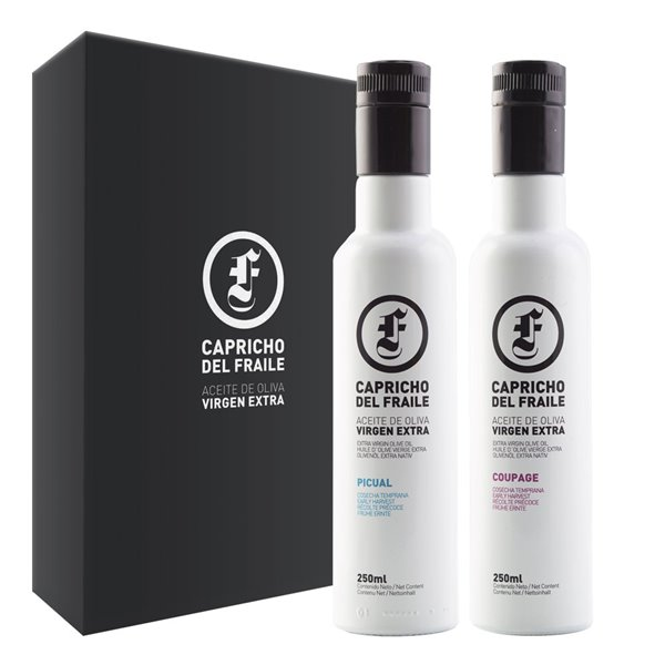 Capricho del Fraile - Coupage y Picual - Estuche 2 Botellas 250 ml