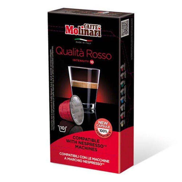 Nespresso Rosso, 10 cápsulas