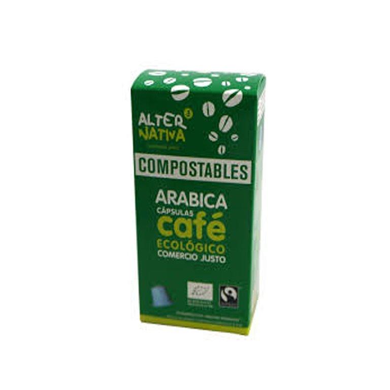 Organic Arabica Coffee Compostable Capsules Alternative3
