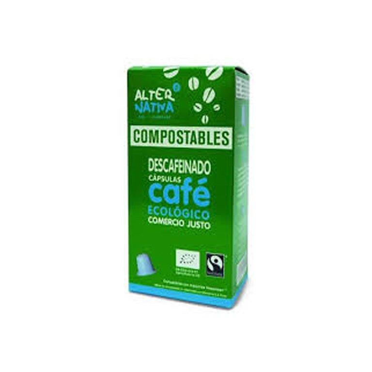Organic Decaffeinated Coffee Compostable Capsules Alternativa3
