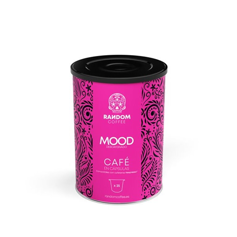 Mood decaffeinated coffee capsules (25 pcs)