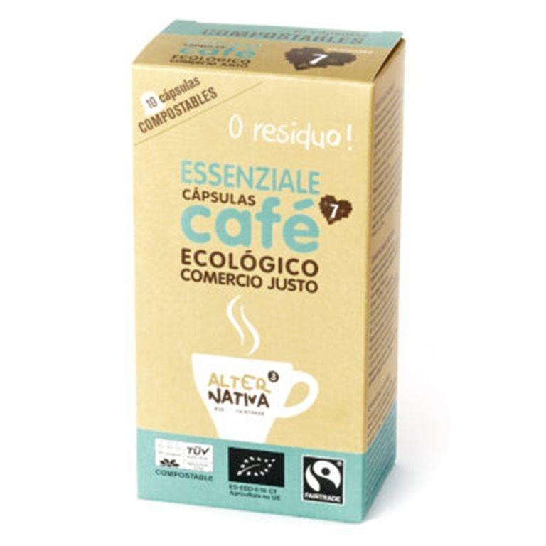 Cápsulas de Café Essenziale Bio Fairtrade 10 Uds.