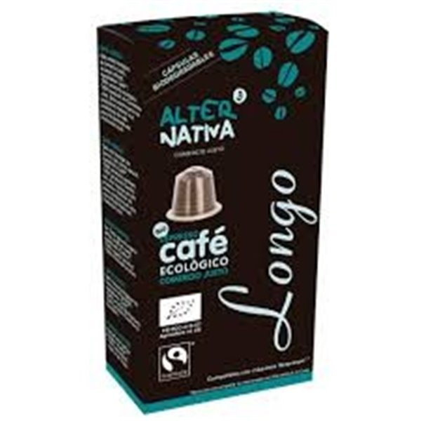 Cápsulas de Café Longo Bio Fairtrade 10 Uds.