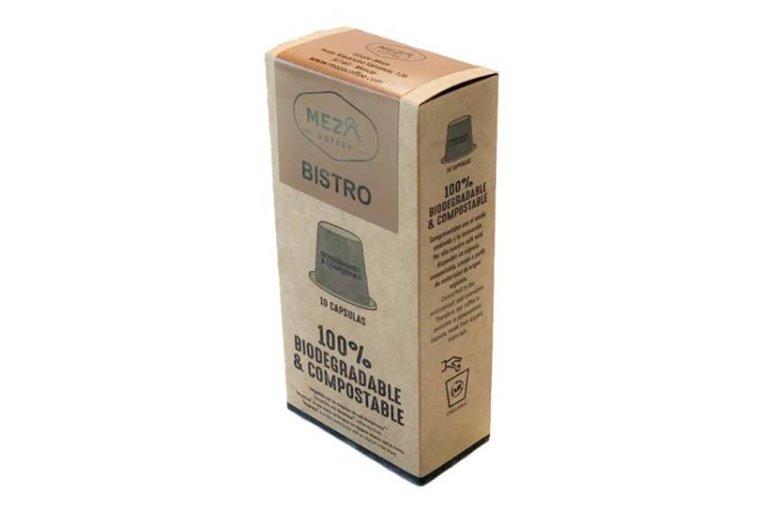 Capsulas de café molido natural de especialidad