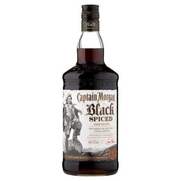 CAPTAIN MORGAN BLACK SPICED 1L.