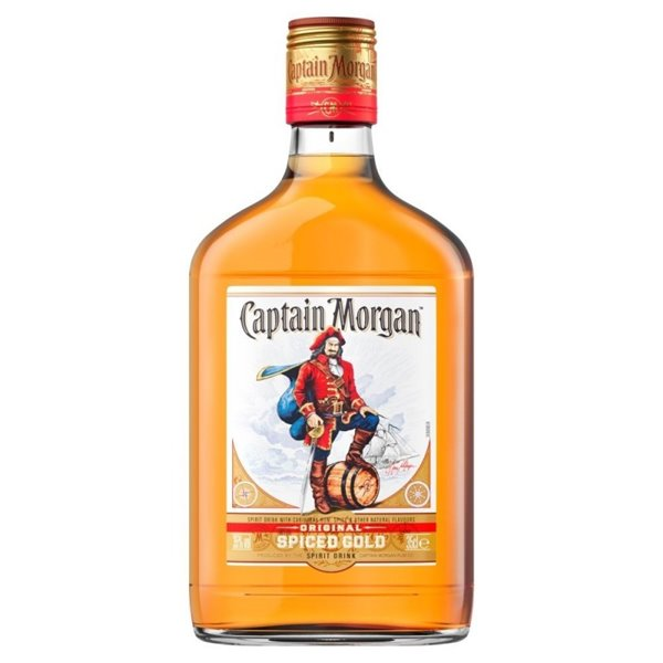 CAPTAIN MORGAN SPICED GOLD 0,35 L.