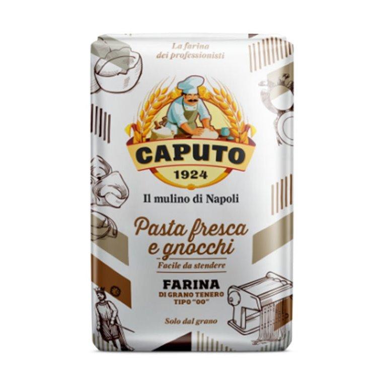 """Caputo Harina para Pasta Fresca y Gnocchi """"TIPO 00"""" 1Kg"""