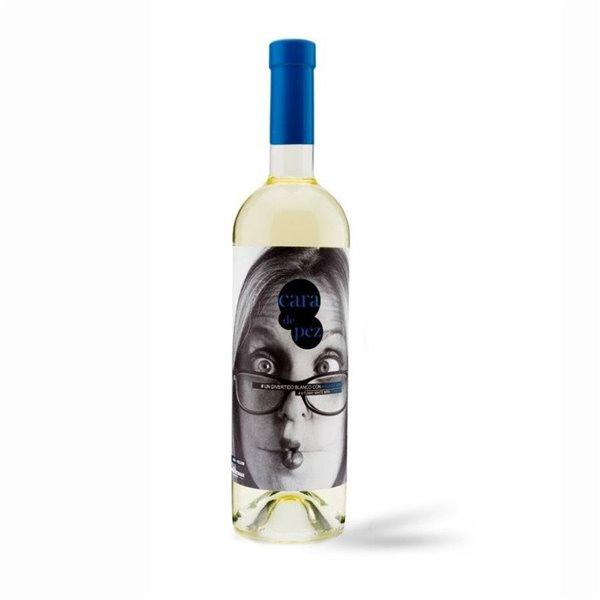 Cara de Pez Vino Blanco con Agua de Mar 75 cl.
