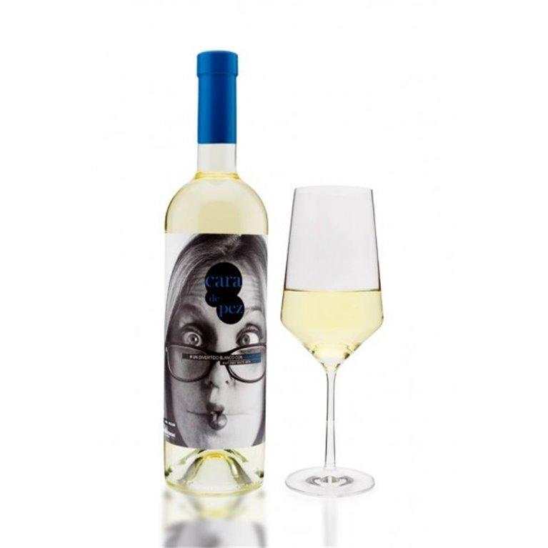 Cara de Pez Vino Blanco con Agua de Mar 75 cl., 1 ud