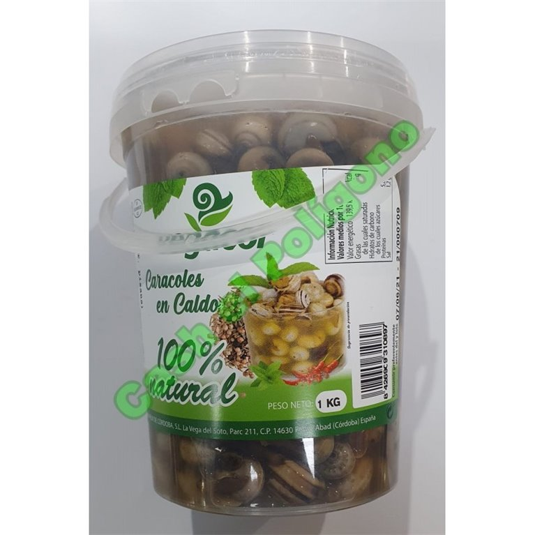 Snails in broth