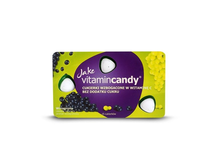 Caramelos con Vit. C (Sabor Uva) - 15 caramelos