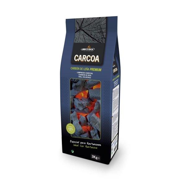 Carbón vegetal premium Carcoa 3Kg