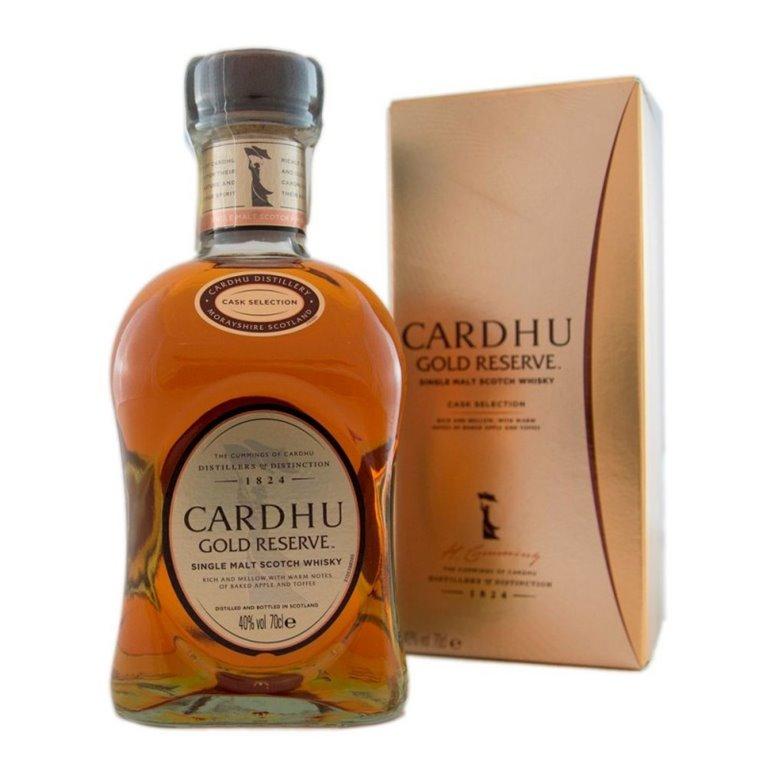 CARDHU GOLD RESERVE 0,70 L. + ESTUCHE