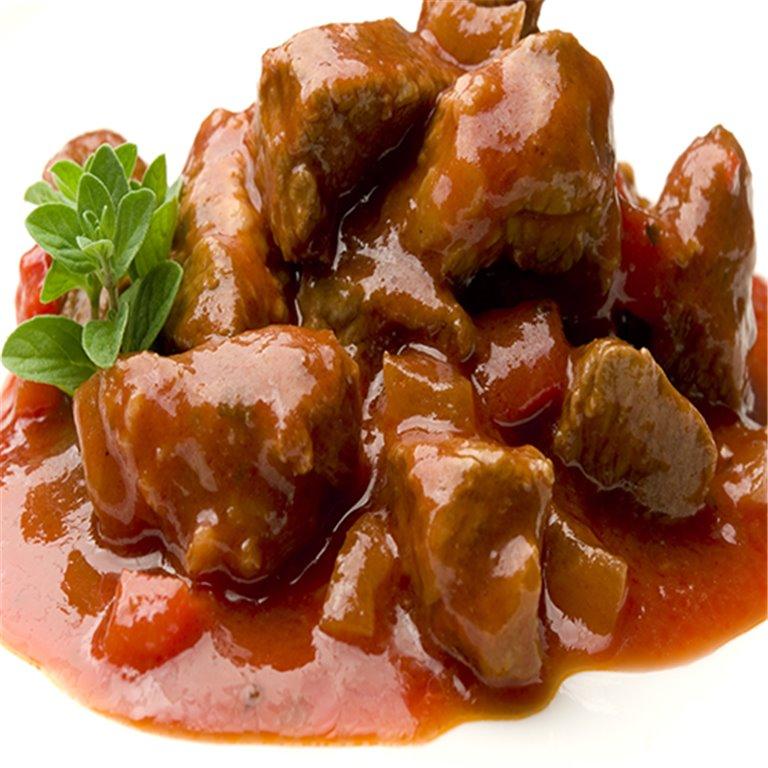 Carne en Tomate con patatas