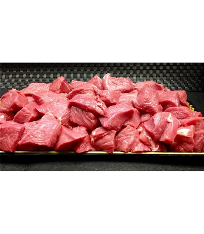 Carne para Guisar de Ternera Rosada, 1 kg