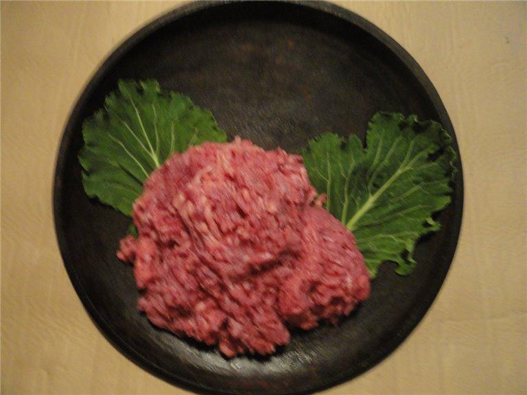 Carne Picada Bandeja de 1 Kg