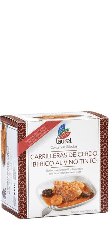 Carrillera de Cerdo Ibérico al Vino Tinto