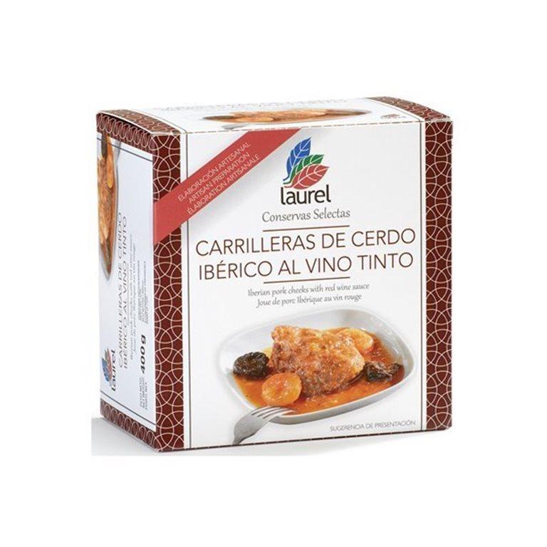 Carrilleras de Ibérico al Vino Tinto, 470 gr