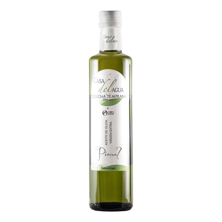 Casa del Agua - Cosecha Temprana - Picual - Botella 500 ml