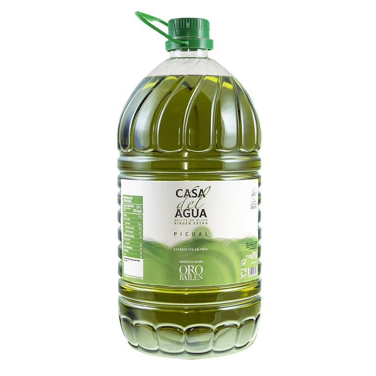 Casa del Agua - Picual - 3 Garrafas 5L + Frasca 250ml GRATIS