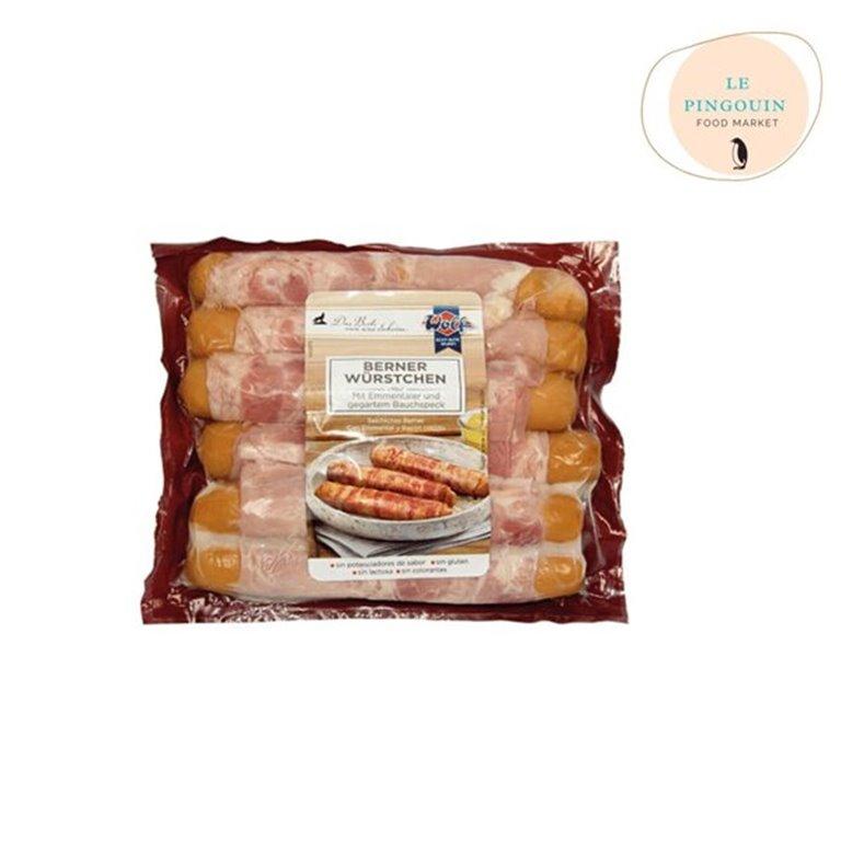Casa Westfalia. Salchichas con bacon rellenas de queso emental 2*500gr